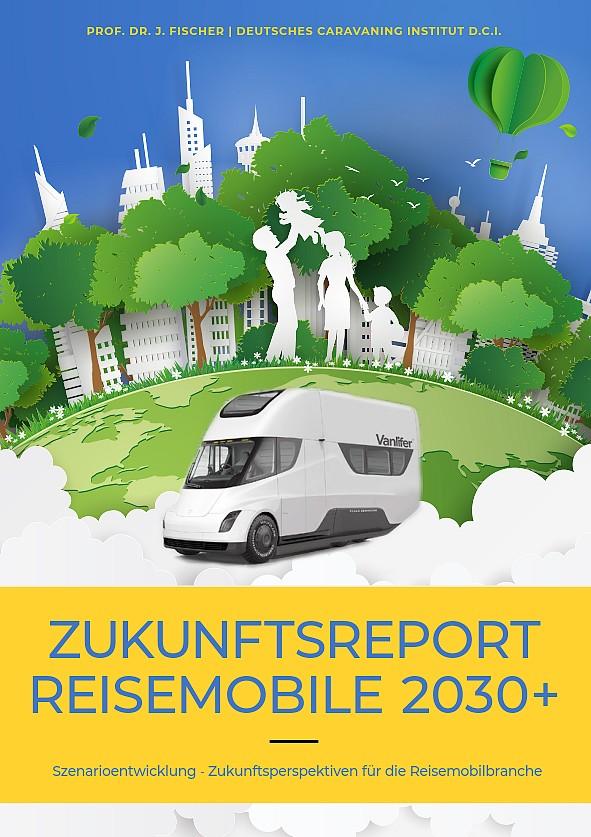 Titelblatt der neuen Zukunftsstudie Reisemobile2030+ (Foto: Fischer/DCI)